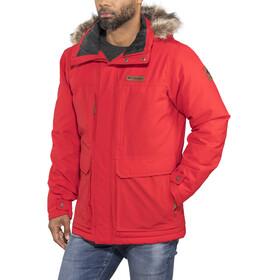 Columbia Marquam Peak Jacket Men Red Spark